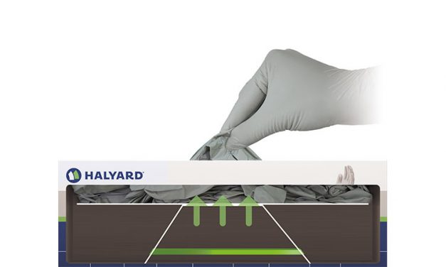Halyard Introduces Eco Pull Dispenser System