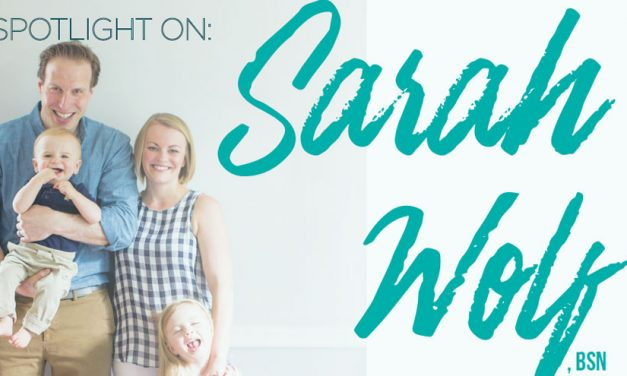 Spotlight on Sara Wolf, BSN