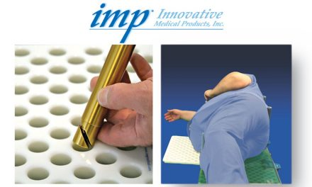 Innovative Medical Products' MorphBoard® lateral positioning system accommodates bariatric patients with a simple rotation of center board module