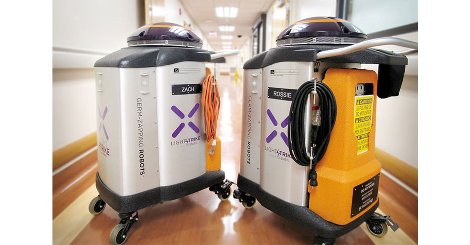 Hospital Reports Fewer Infections After Adding LightStrike Pulsed Xenon UV Disinfection