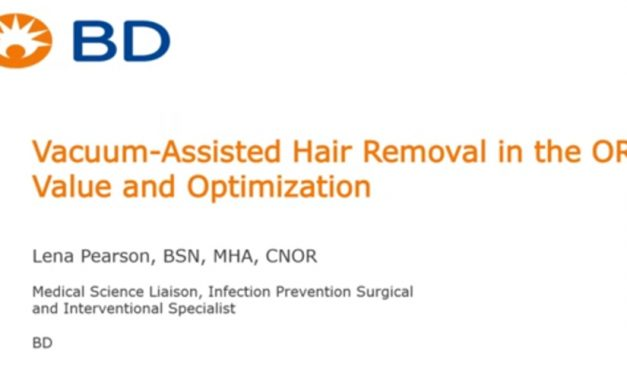 OR Today Webinar Addresses Hair Removal in the OR