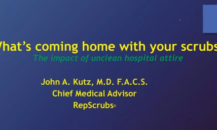 """What's Coming Home With Your Scrubs?"" Webinar Well Received"