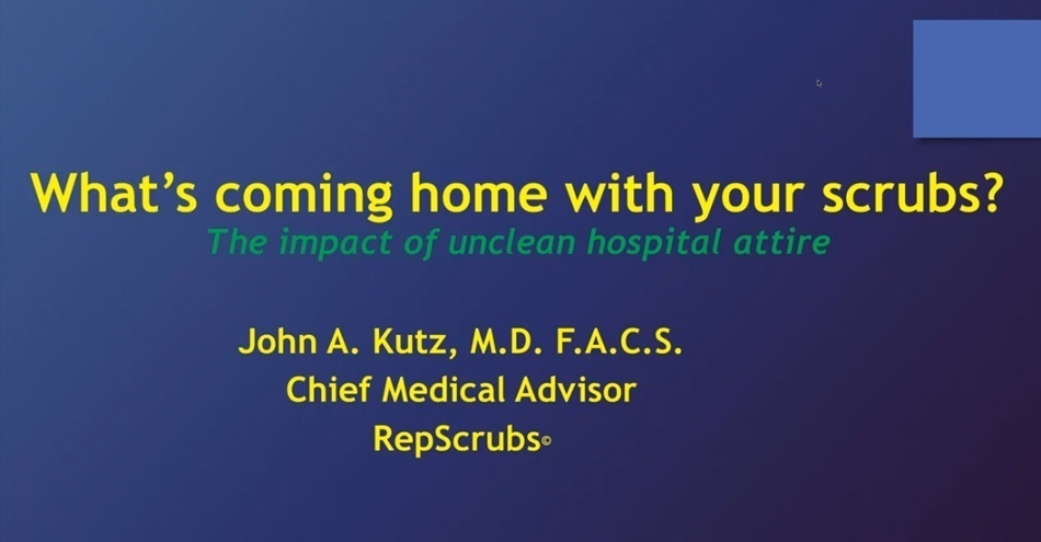 """""""What's Coming Home With Your Scrubs?"""" Webinar Well Received"""