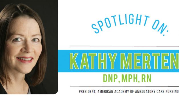 Spotlight On Kathy Mertens, DNP, MPH, RN