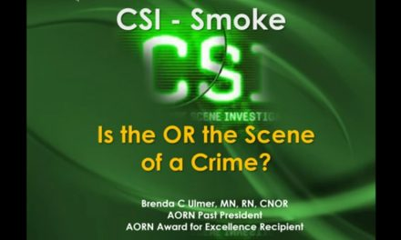 Webinar Addresses OR Smoke