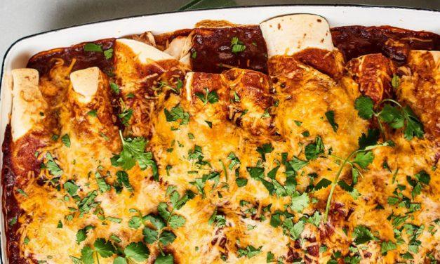 Easiest Enchiladas You'll Ever Make