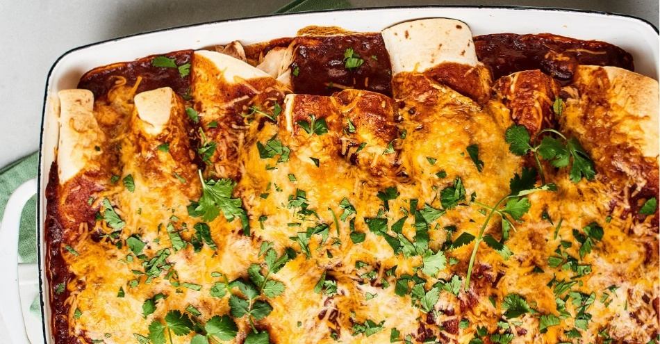 Easiest Enchiladas You'll Ever Make