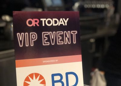 OR Today VIP event