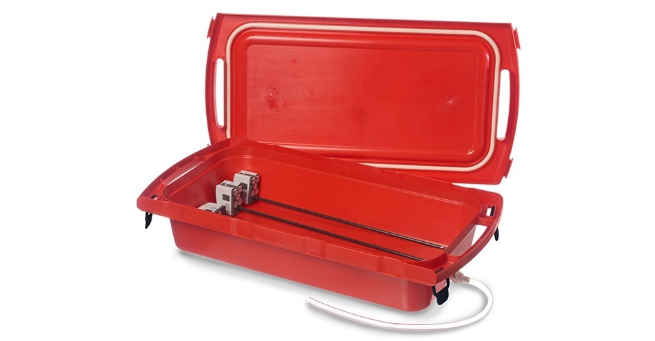 InstruSafe New XL Transport Container Protects da Vinci SP, Xi and EndoWrist Laparoscopic Instruments