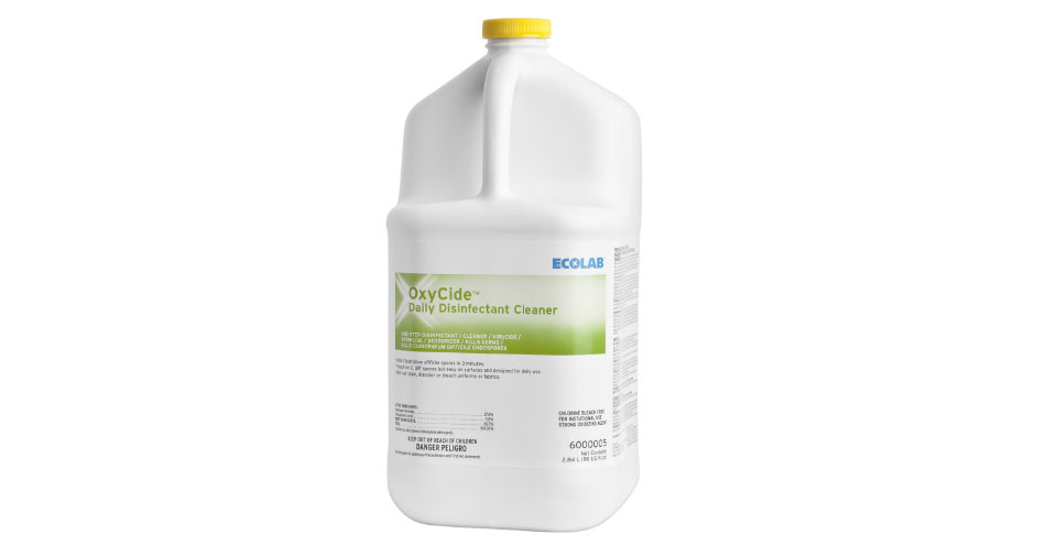 ECOLAB OxyCide Daily Disinfectant Cleaner