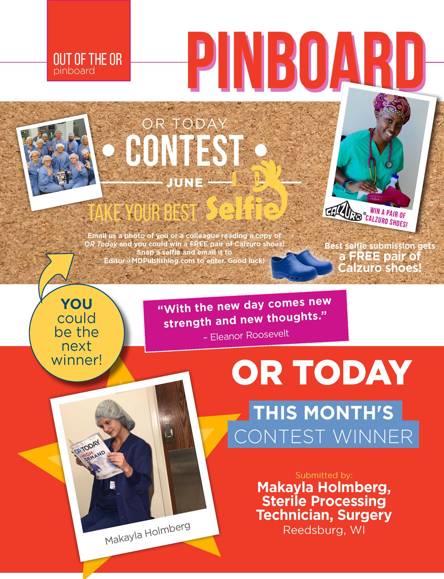 Pinboard / Contest – June 2019