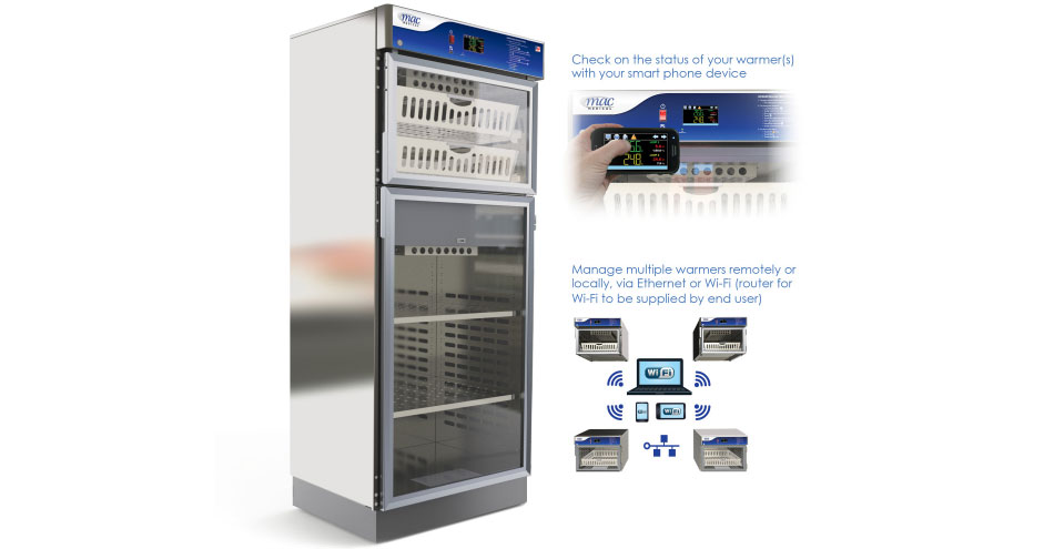 MAC Medical TS-Series (Touch Screen) Warming Cabinets