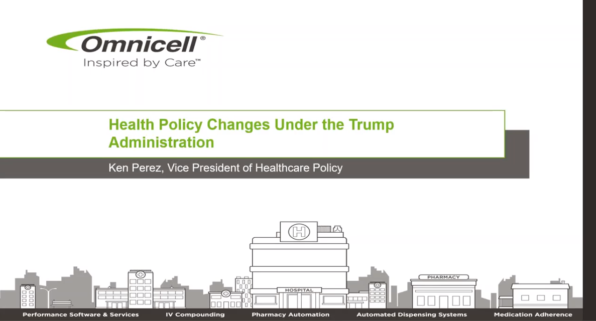 Webinar Explores Policy Changes Under Trump