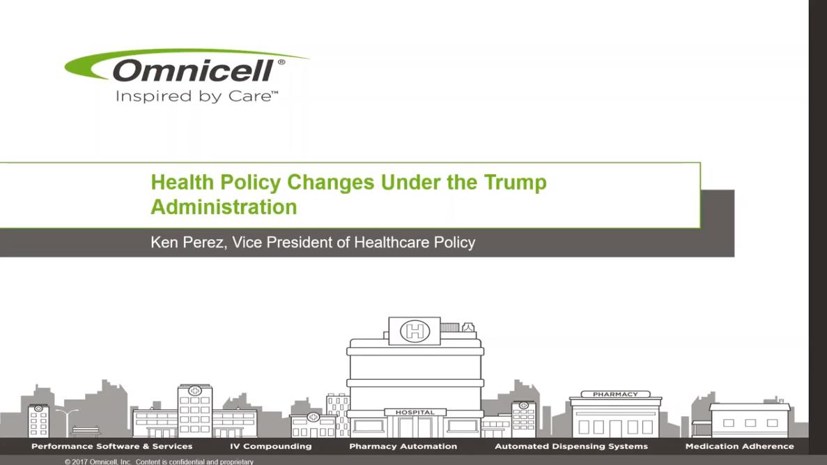 Webinar Explores Policy Changes Under Trump