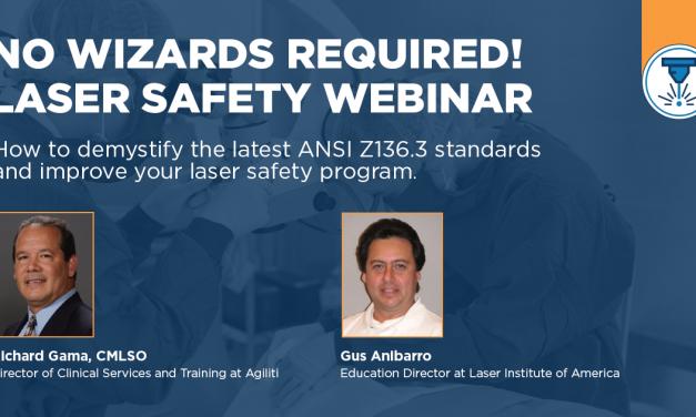 [Sponsored] No Wizards Required! Laser Safety Webinar