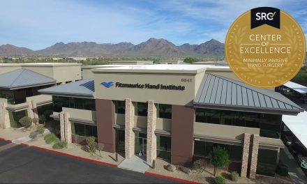 Fitzmaurice Hand Institute Becomes the First Surgical Facility Worldwide to Achieve Accreditation as a Center of Excellence in Minimally Invasive Hand Surgery