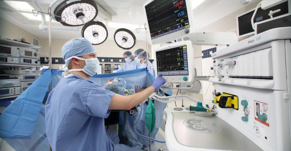 GE Healthcare CARESCAPE Monitor B850