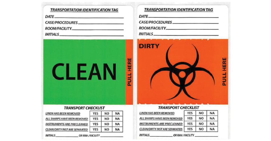 Healthmark Industries Transportation Identification Tag