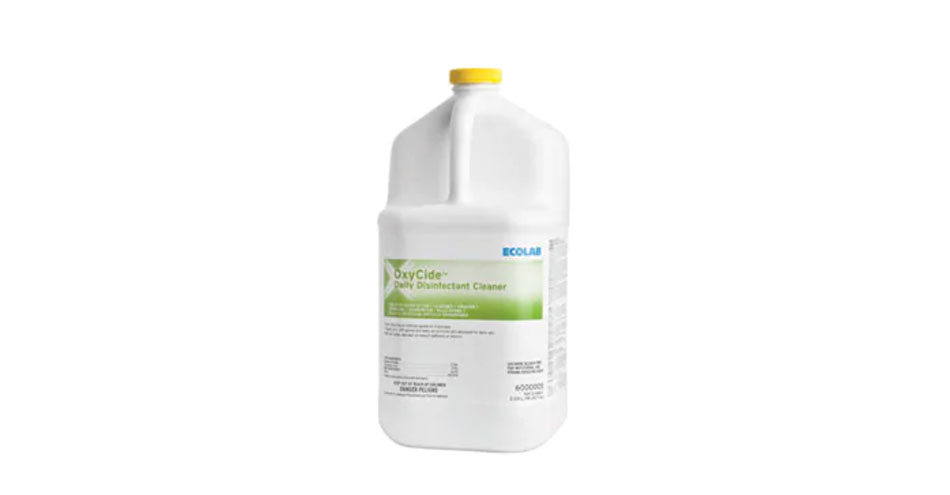 OxyCide Daily Disinfectant Cleaner Receives U.S. EPA Candida Auris Claim