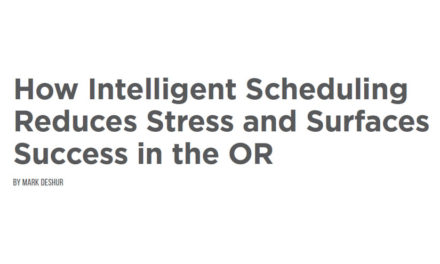 How Intelligent Scheduling Reduces Stress and Surfaces Success in the OR