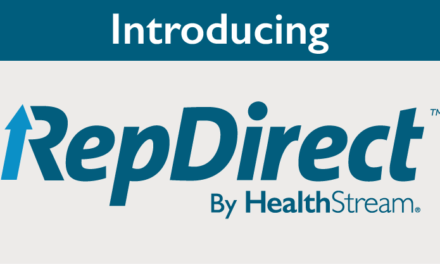 HealthStream Launches RepDirect