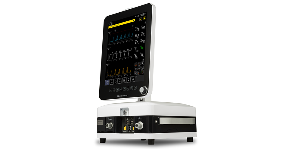 Nihon Kohden Introduces NKV-550 Ventilator