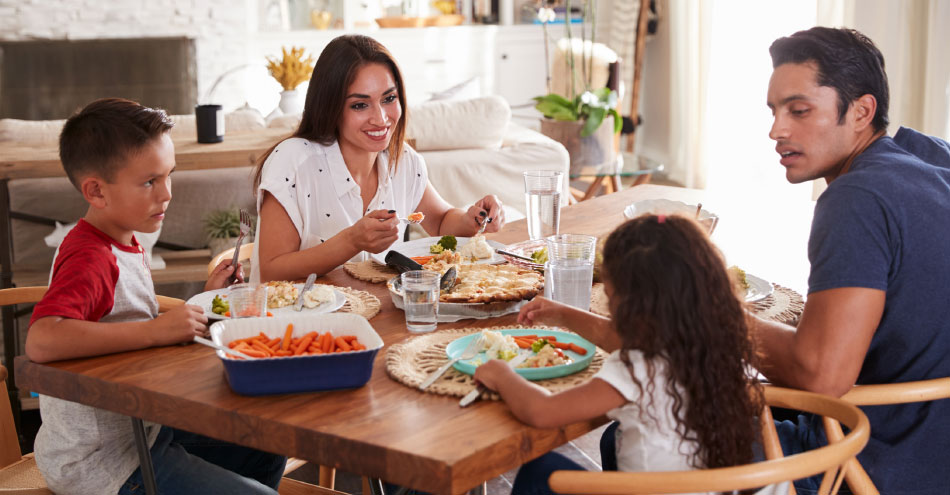Family Meals and Healthy Eating