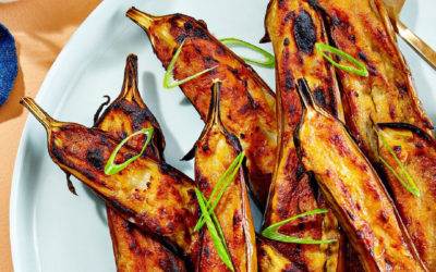 Miso Glazed Eggplant is a Joy to Cook