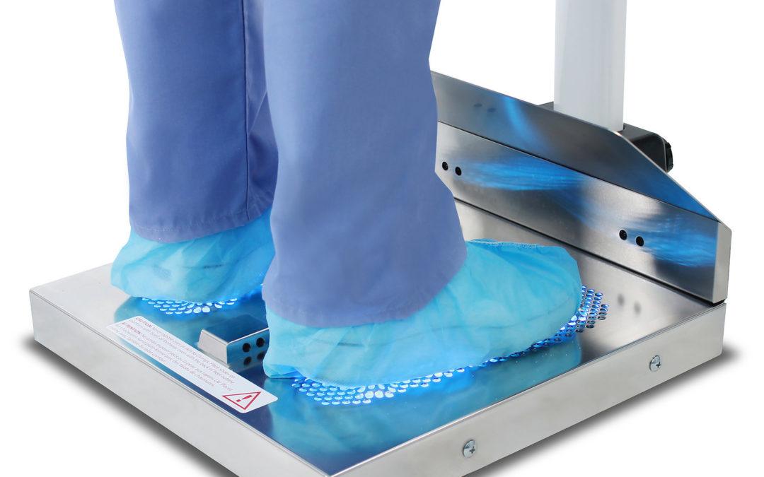 Study: HealthySole UVC Technology Deactivates Human Coronavirus on Footwear