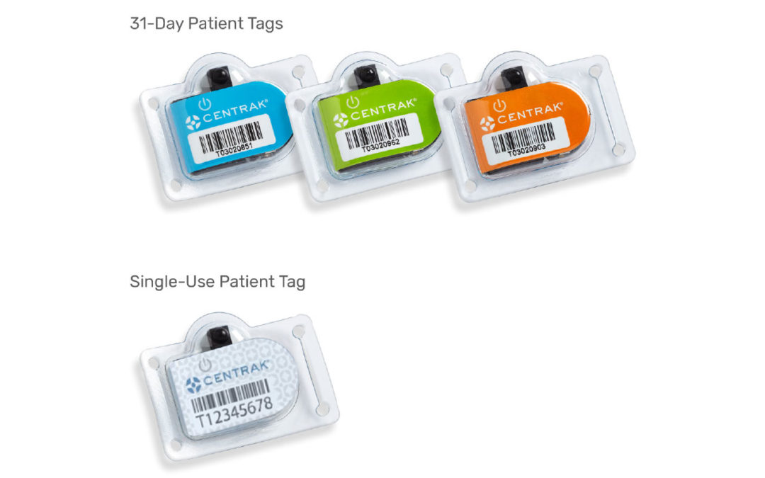 CenTrak 31-Day/Single Use Patient Tags