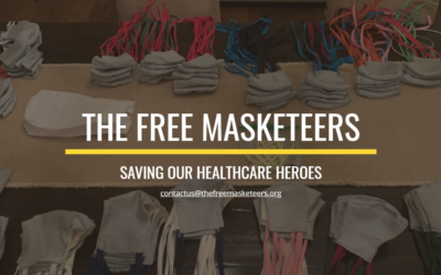 Free Masketeers Supports Health Care Heroes