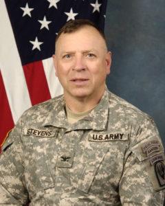 Pat Stevens, Col (R), Adviser.