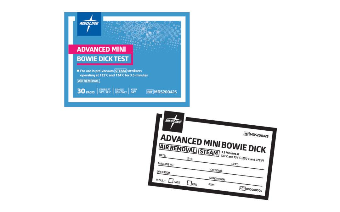 Medline Advanced Mini Bowie Dick Test