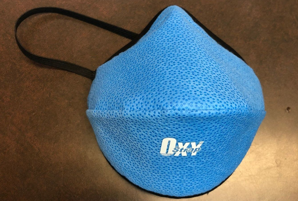 OxyStrap Shifts to Manufacturing N95 Equivalent Protective Masks