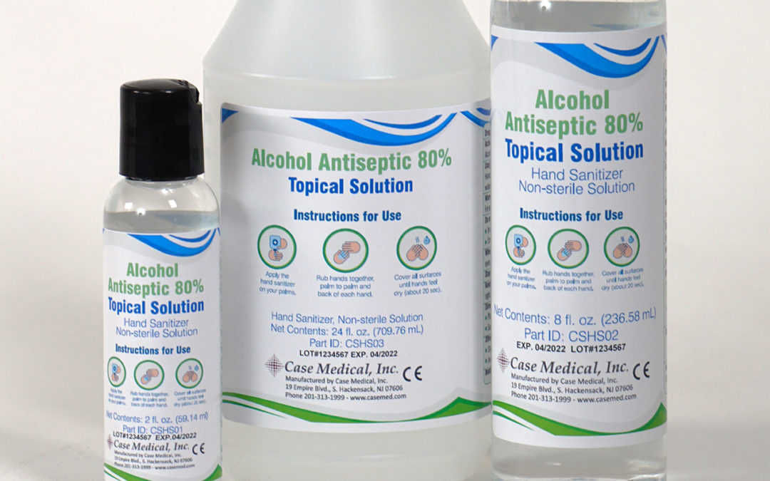 Case Medical Launches Hand Sanitizer Amid Supply Shortage