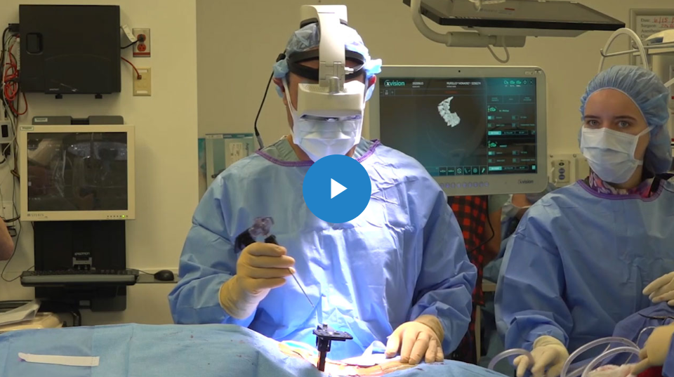 Spine Surgery Enters New Era with Augmedics xvision Spine System