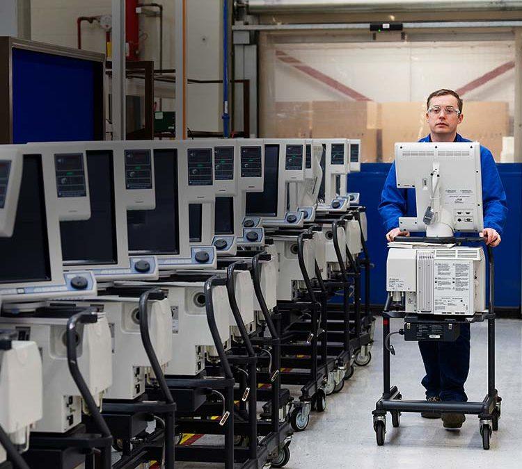 Medtronic, Foxconn Partner to Increase Ventilator Production