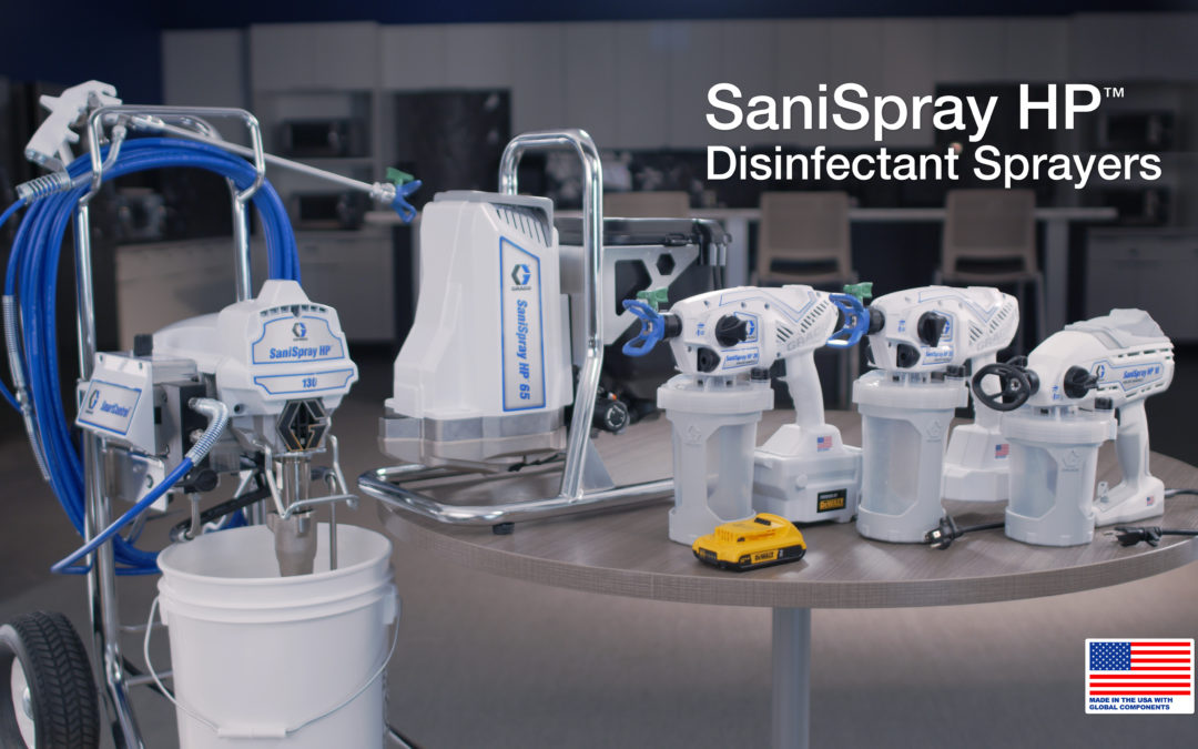 Graco Launches Disinfectant Sprayer Lineup