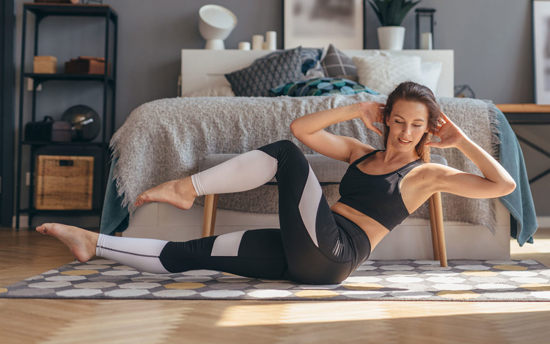 Discipline Behind at Home Workouts