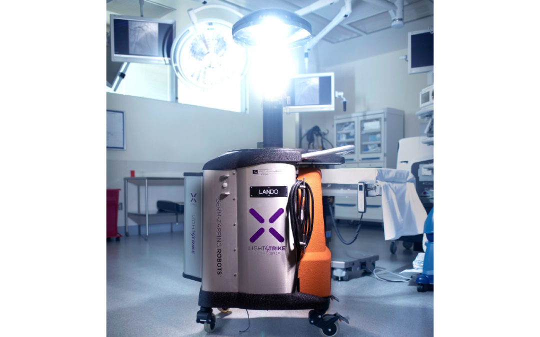 Xenex  LightStrike  Germ-Zapping Robots