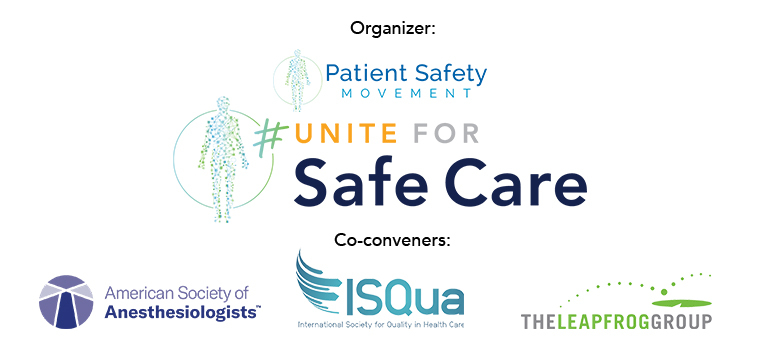 Groups Join Forces for #UniteForSafeCare World Patient Safety Day Campaign