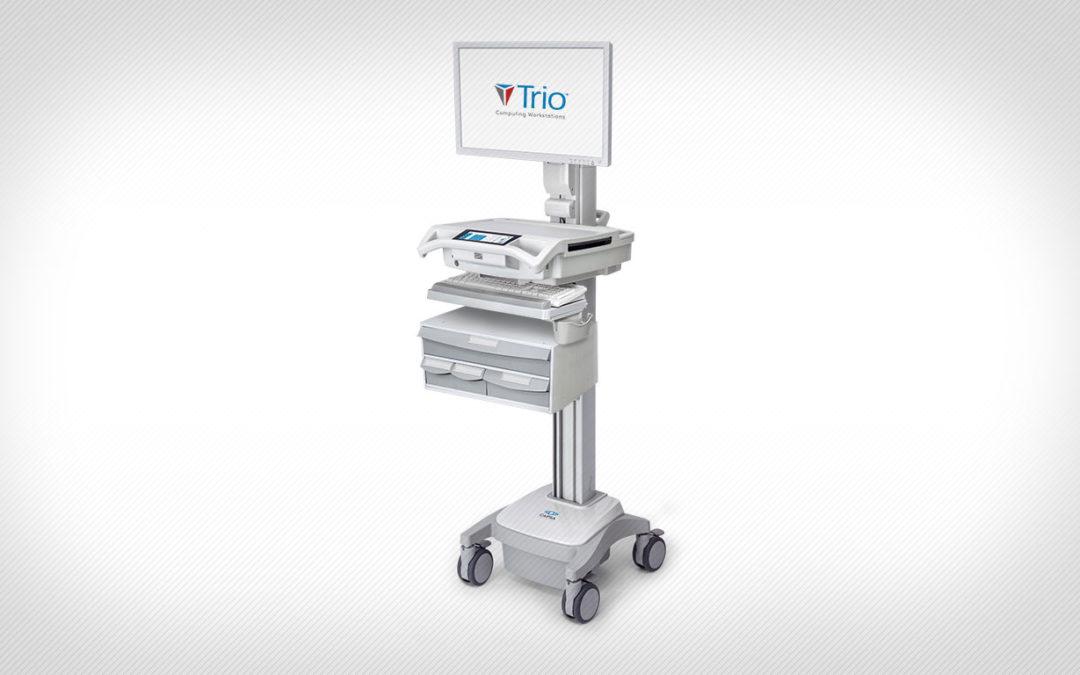 Capsa Healthcare Introduces Trio Mobile Computing Workstation