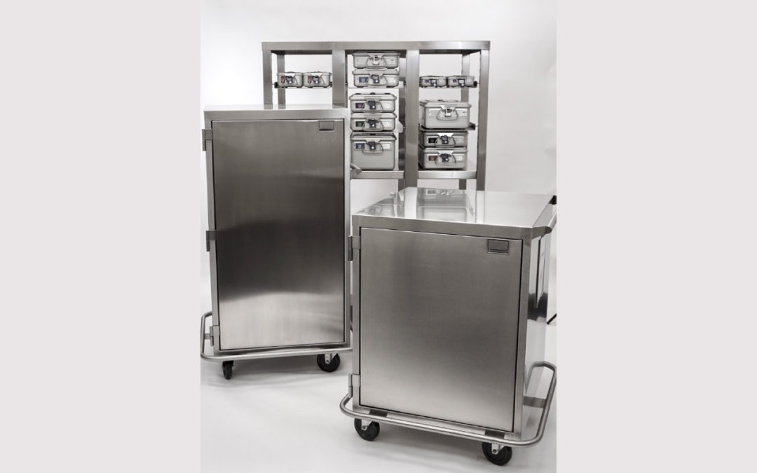 Case Medical SteriTite Sterilization Containers and Case Carts