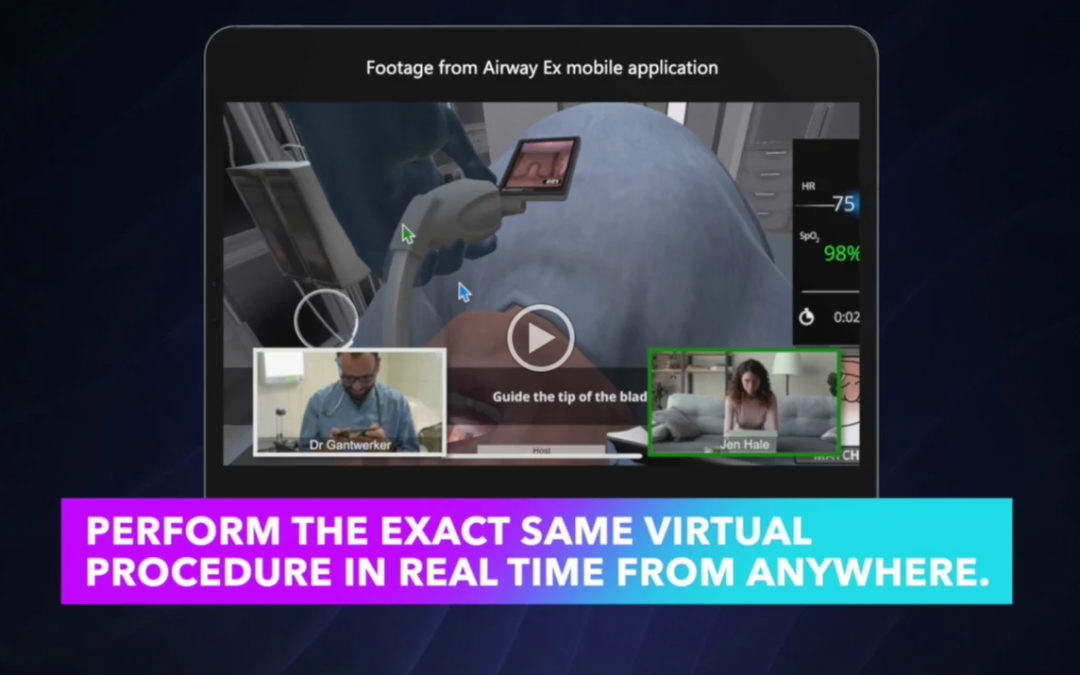 Level Ex Unveils First Multi-User Simulated Surgery Over Web Conferencing