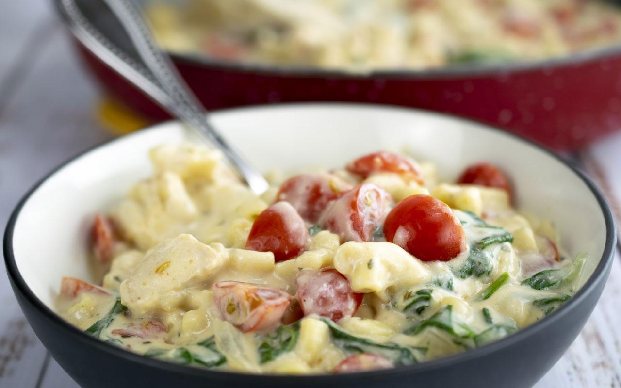 Recipe: Skillet Macaroni and Cheese