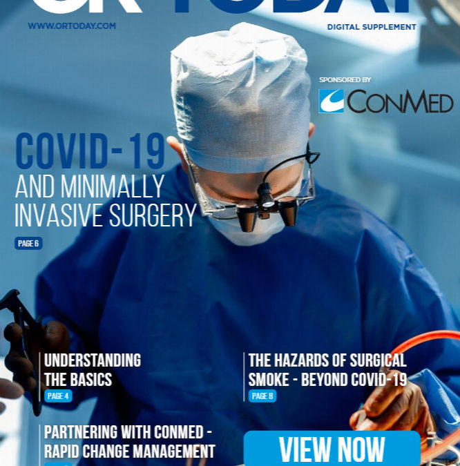 Digital Supplement: COVID-19 and Minimally Invasive Surgery
