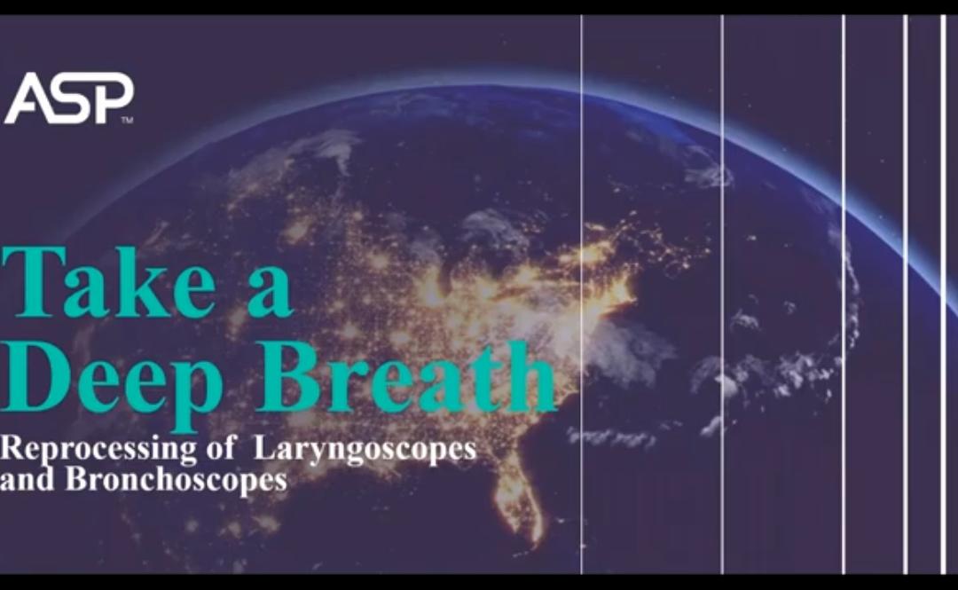 Webinar Addresses Reprocessing of Laryngoscopes, Bronchoscopes