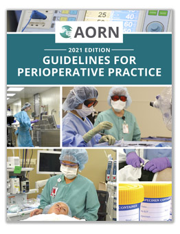 2021 Guidelines for Perioperative Practice