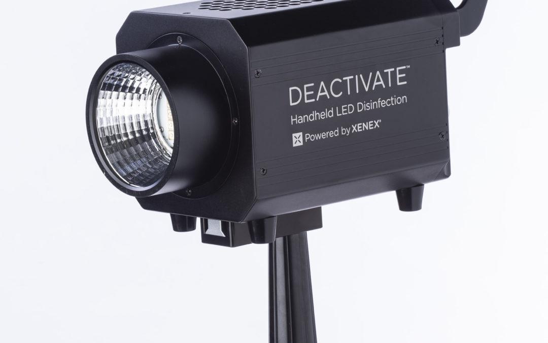 Xenex Announces DEACTIVATE Handheld Disinfection Device
