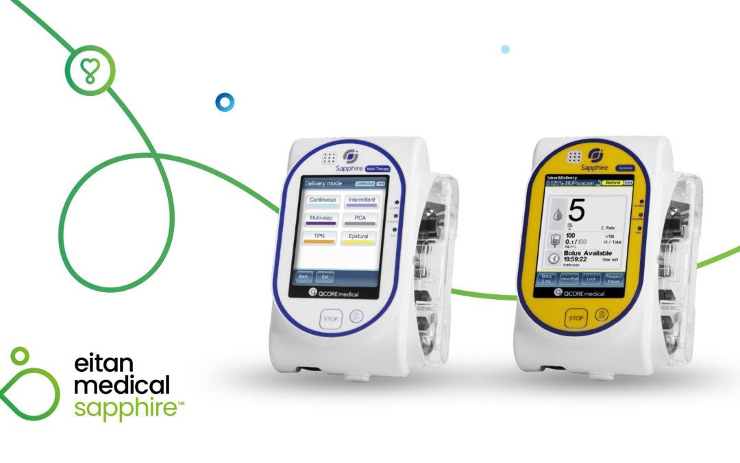 Upgraded Sapphire Infusion Pump System Receives FDA Clearance